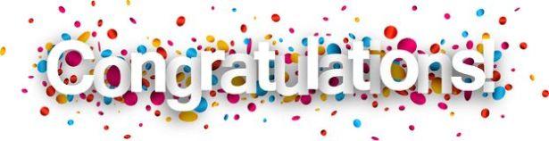 Congraturations